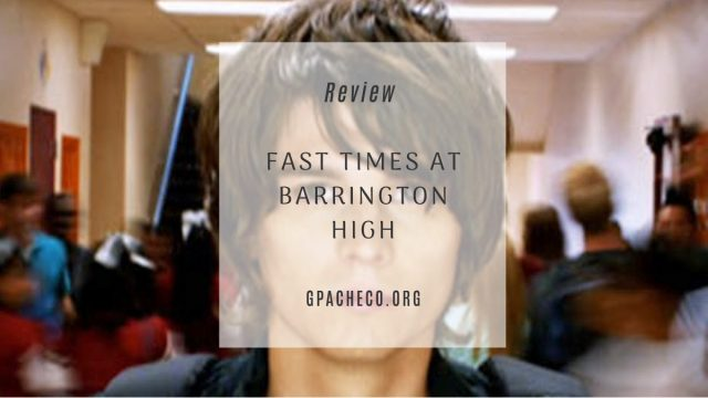 fast times at barrington high