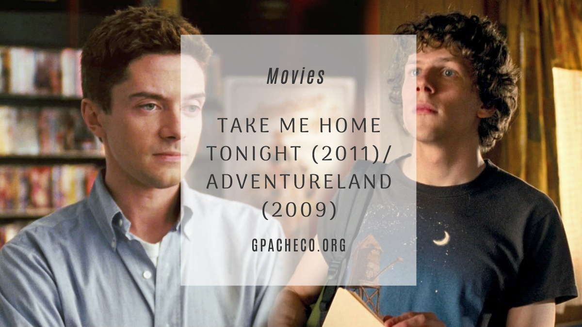 homebrew blend of topher grace in take me home tonight & jesse eisenberg in adventureland