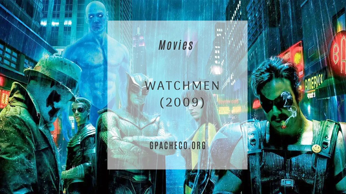 the cast of watchmen (2009)