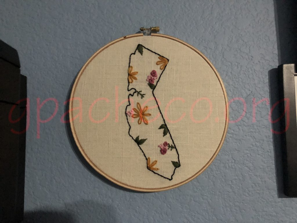 My plate by Willow Tree Embroidery