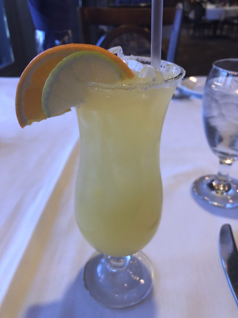 mango margarita drink from crawdaddy's in visalia