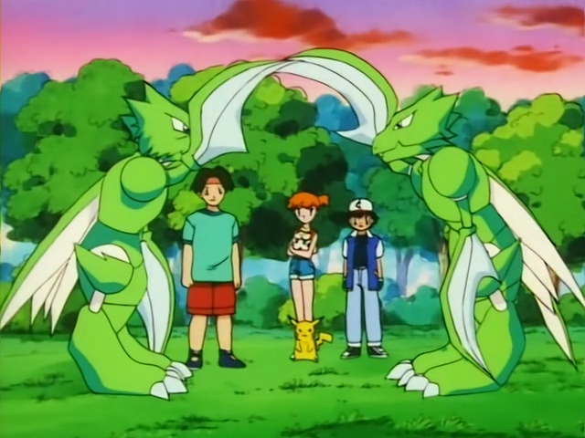 tracey's scyther bids goodbye to his swarm