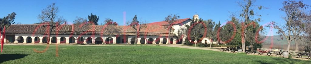 The exterior of San Juan Bautista