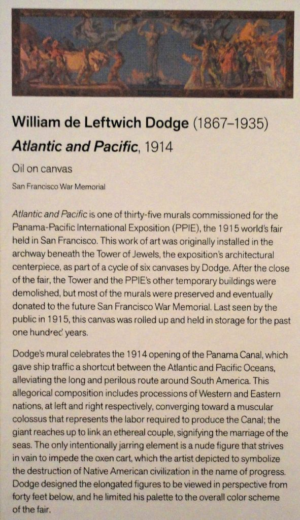 Atlantic and Pacific blurb