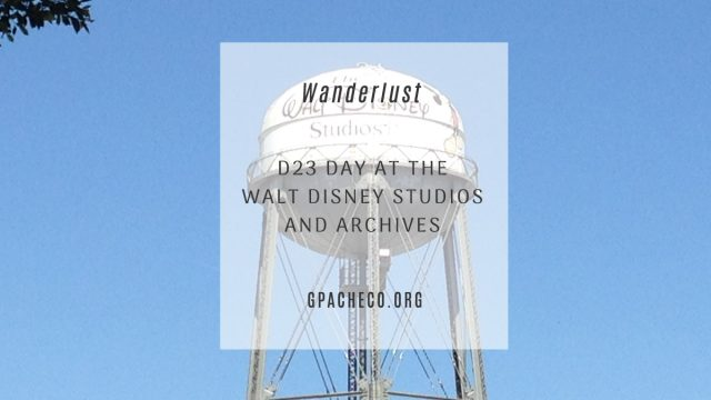 My picture of the water tower at the Walt Disney Studios in Burbank, CA
