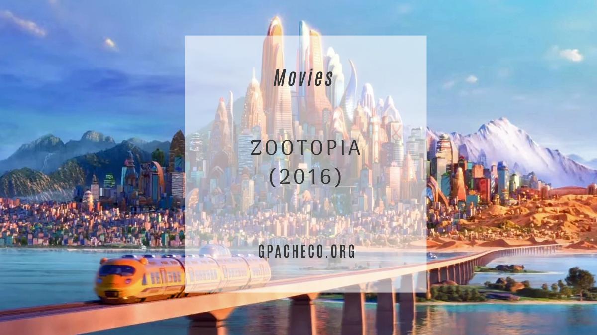 Zootopia cityscape