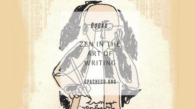 yes! capra chapbook cover of zen in the art of writing by ray bradbury