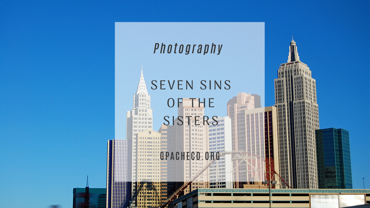 seven sins of the sisters: a creative photography project